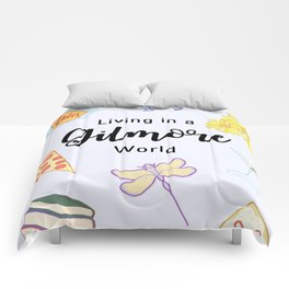 Living in a Gilmore world Comforters
