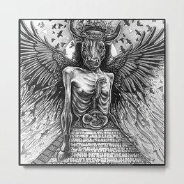 The Rise Metal Print