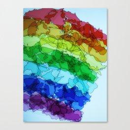 rainbow nation Canvas Print