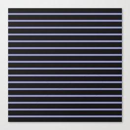 Black & Lavendar Canvas Print