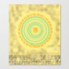 Big Sun Canvas Print