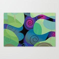 Sea Tropic Effect Canvas Print
