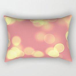 Soft Lights Bokeh 4B Rectangular Pillow