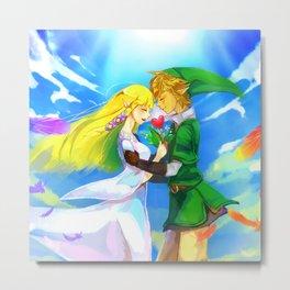 Zelda in love Metal Print