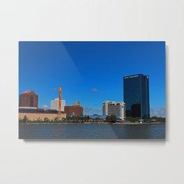 Toledo Skyline III Metal Print