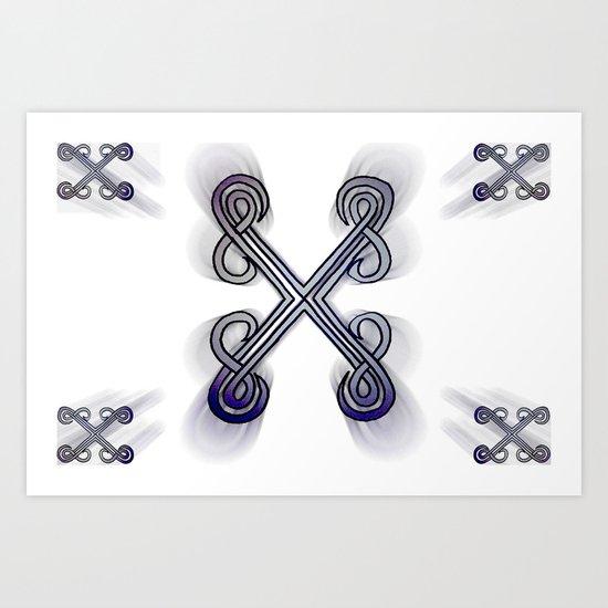 X's Art Print
