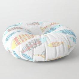 Portuguese Sardinhas Floor Pillow