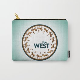 The West Medallion Carry-All Pouch
