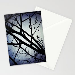 Winter Moon Stationery Cards