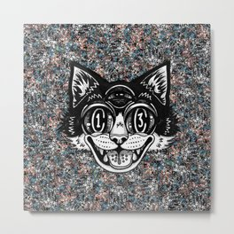 The Creative Cat Metal Print
