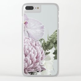 for the love of flowers 5 Clear iPhone Case