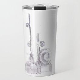 Architectural Detail Sketch Travel Mug