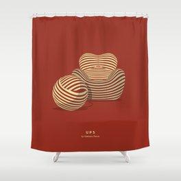 UP5 - Gaetano Pesce Shower Curtain