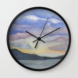 Southern Gulf Islands Wall Clock
