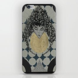 Lady. iPhone Skin