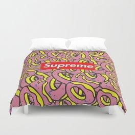 supreme donuts Duvet Cover