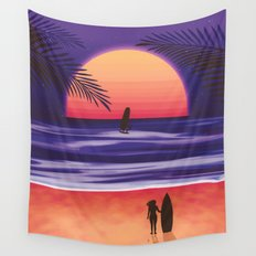 Beach Break Wall Tapestry