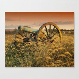 Antique Field Canon Canvas Print