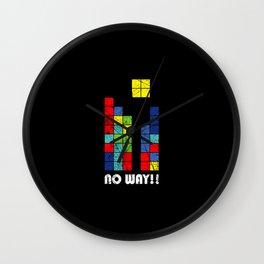 no way Wall Clock