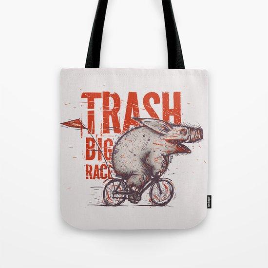 Trash BIG RACE Tote Bag