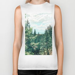 The World As We Know It #nature #digitalart Biker Tank