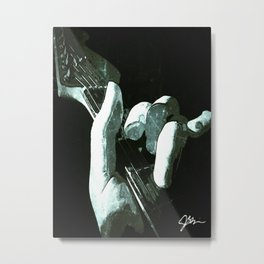 Left Hand Metal Print