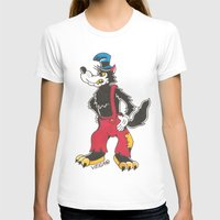 bad wolf T-shirts featuring Bad Wolf by @VEIGATATTOOER