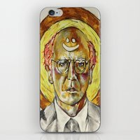 larry david iPhone & iPod Skins featuring Larry David by Carson Kaiser