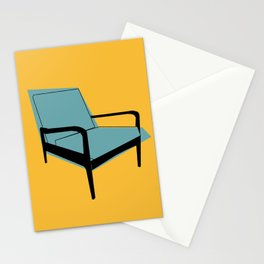 Mid Century Chair Stationery Cards