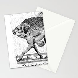 If fishes had legs Stationery Cards