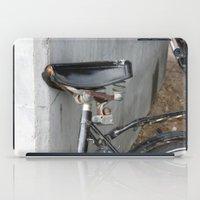 copenhagen iPad Cases featuring Rusty bike Copenhagen by RMK Photography