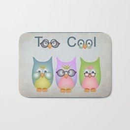 Too Cool Owls Bath Mat
