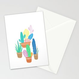 Cactus Stationery Cards