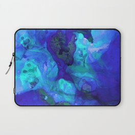 Violet Blue - Abstract Art By Sharon Cummings Laptop Sleeve
