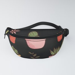 Indoor Plants Sayings Fanny Pack
