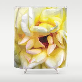 Close up of a Rose Shower Curtain