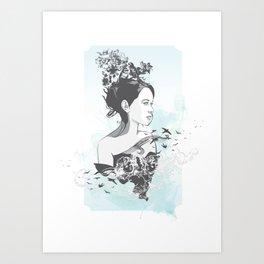 Susan Pevensie Art Print