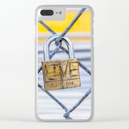 #Live Clear iPhone Case