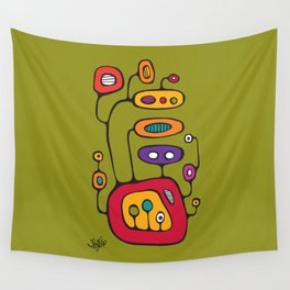 Broadcast in Full Color Wall Tapestry
