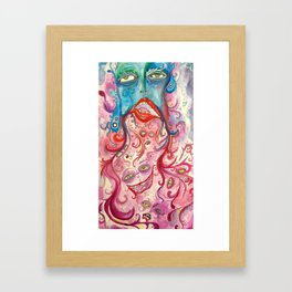 There is No Fear Framed Art Print