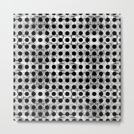 black dot system Metal Print