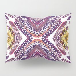 Pink Feathers - Mirrored print Pillow Sham