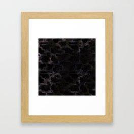 Glamorous Design Framed Art Print