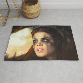 Octavia Blake. Marie Avgeropoulos The 100 Rug