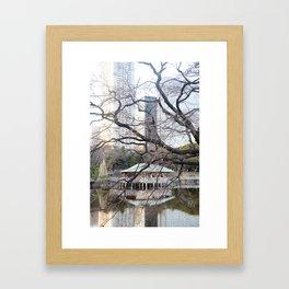 Teahouse. Framed Art Print