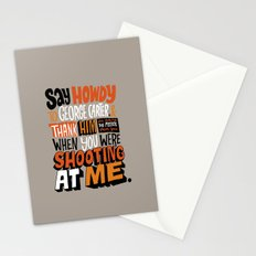 Shooting At Me Stationery Cards