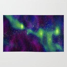 galaxy greenwave Rug