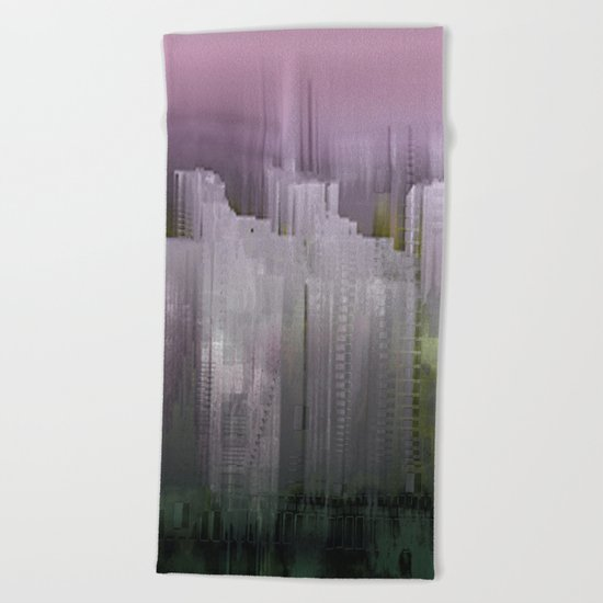 Melancholy / Floating Town / 30-11-16 Beach Towel