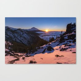 Teide National Park Canvas Print