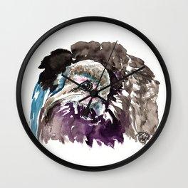 Misunderstood Vulture Wall Clock